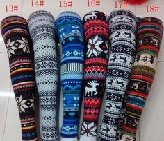 Christmas leggings >>> I want every single one of these for next year. Not even kidding.