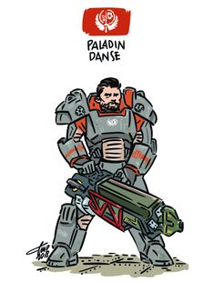 """Tiny Paladin Danse! """"Ad Victoriam!"""" *pewpewpew!* ♥ Patreon ♥ Offer me a coffee ♥ prints ♥ shop ♥ Instagram 