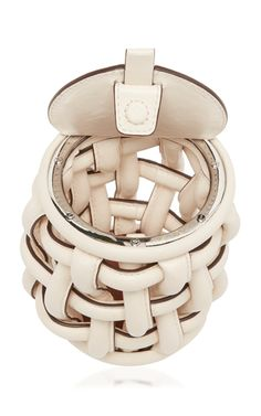 Coco Leather Cage Bag by Danse Lente Danse Lente, Womens Designer Bags, Cage, Leather Bag, Belt, Fashion Design, Collections, Accessories, Belts