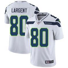 Nike Seahawks #80 Steve Largent White Men's Stitched NFL Vapor Untouchable Limited Jersey