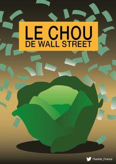 Le chou de Wall Street #UnLegumeDansUnFilm #Florette #Veggister