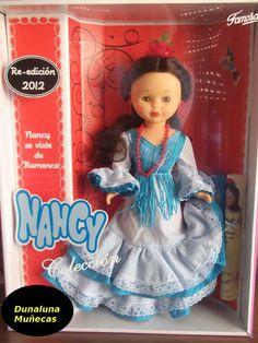 NANCY FLAMENCA RE-EDICIÓN 2012. NUEVA..ESPECTACULAR MUÑECA NANCY.