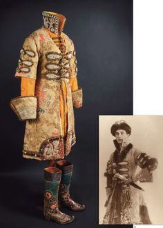 Prince Felix Yusupov's boyar costume. The costume which has been preserved for over a 100 years will be auctioned on November 4, 2016 by French auction house Olivier Coutau-Begarie