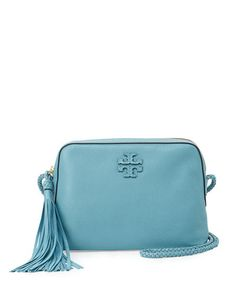e331b89293ee Tory Burch Taylor Leather Camera Bag
