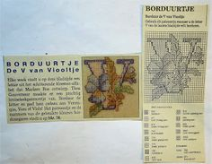 Digitale Bibliotheek: 2apr17 Embroidery pattern/ Borduur patroon alfabet...