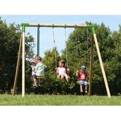 Columpios para jardín Slam en http://www.tuverano.com/columpios-infantiles/643-columpios-para-jardin.html