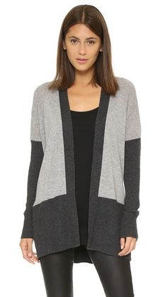 Vince Colorblock Cashmere Cardigan | SHOPBOP SAVE 25% Use Code:INTHEFAM25