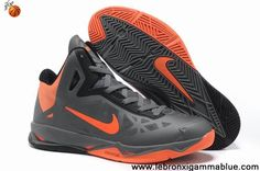 Latest Listing Cheap Charcoal Total Orange-Black Nike Zoom Hyperchaos X 536845-002 For Sale