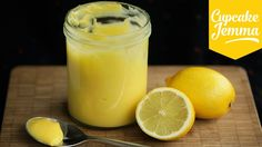 Perfect Lemon Curd Recipe | Cupcake Jemma