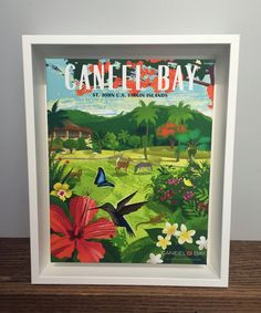 Display this beautiful Caneel Bay Floral and Fauna Vintage Poster at home! Visit http://cololoba-boutique-and-gift-shop.myshopify.com/products/caneel-bay-floral-and-fauna-vintage-poster to purchase online