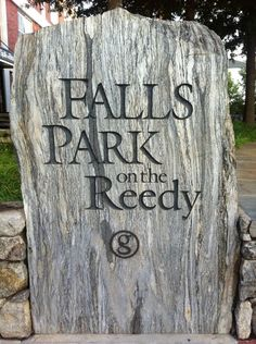 Falls Park on the Reedy, The Children's Garden, walking Main Street, and shopping and eating at Greenville's awesome local businesses