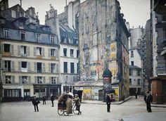 【無加工カラー写真】1914年のパリが超絶ノスタルジックでクラクラする | DDN JAPAN