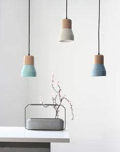 Подвесной светильник Cement Wood — купить в Москве и регионах России с доставкой!
