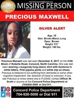 Find Missing Precious Maxwell!
