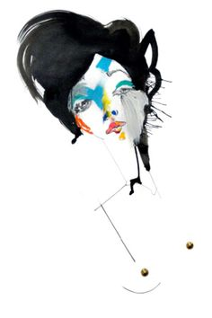 Fashion illustration by Julie Verhoeven