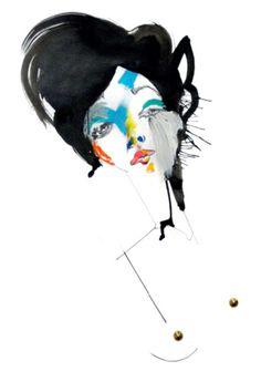 Decoy Magazine: Julie Verhoeven - A Bit of Rough Julie Verhoeven, Paula Bonet, Illustrations And Posters, Fashion Illustrations, Woman Illustration, Inspirational Artwork, Sketch Inspiration, Collage, Life Drawing