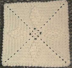 Marlo's Crochet Corner - May 2001 Square - Free Crochet Pattern