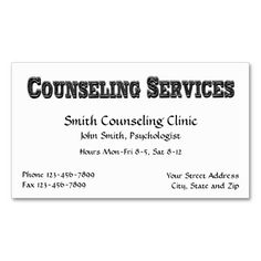 The 194 best mental health counselor business cards images on counselor psychologist mental health business card colourmoves