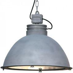ORE Große Industrie-Loft-Leuchte mit Glasscheibe von Breda Leuchten - Foto