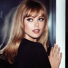 Frida Gustavsson is inspired . - Frida Gustavsson is inspired Frida Gustavsson is inspired - Frida Gustavsson, Hairstyles With Bangs, Pretty Hairstyles, Hairstyles 2016, Blonde Hairstyles, Fringe Hairstyles, Hair Inspo, Hair Inspiration, New Hair
