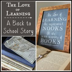 The Love of Learning - A Back to School Story   Hymns and Verses