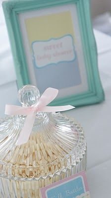 Use the silver wedding games for stuff at the shower.