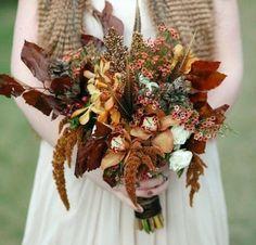 50 Charming Fall Woodland Wedding Ideas | HappyWedd.com
