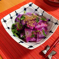 甘くて瑞々しい❤️ - 14件のもぐもぐ - 紫大根のサラダ by princeanne