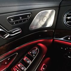 """""""high-end materials, perfect craftmanship... modern and classy together, that's the new S-Class. #thebestornothing"""" Photo  Text by @der_landgraf #mbcar #car #cars #luxury #lifestyle #cartastic #inside #instacar #germany #burmester #light"""