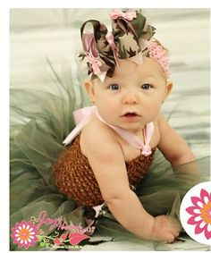 Pink and Camo Military or Hunting Tutu by JoyofHannahBoutique, $32.20