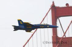 Iconic San Francisco Fleet Week shot of the Blues opposing solo.