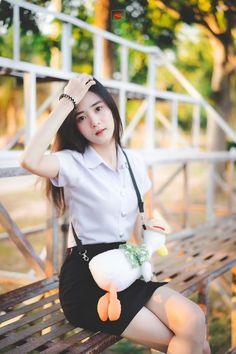 Sexy Asian Girls, Beautiful Asian Girls, Beautiful Women, University Girl, Girls Uniforms, High School Girls, Cosplay, Long Hair Styles, Lady