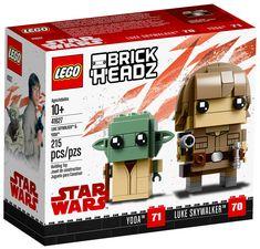 LEGO BrickHeadz 41627 : Luke & Yoda