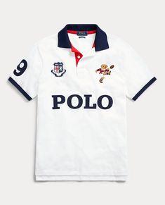 The England Polo Gucci Polo Shirt, Mens Polo T Shirts, Golf Shirts, Boys T Shirts, Mens Tees, Polo T Shirt Design, T Shirt Custom, Boys Summer Outfits, T Shorts