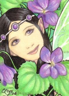 February Violet   (Birthday Fairy Series)