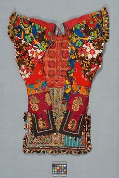 Greban (backless blouse) Pakistan - Museum of Anthropology at UBC