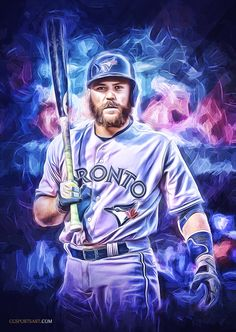 Wow! #SoStinkinCool - Russell Martin - Toronto #BlueJays Blue Jay Tattoo, Baseball Toronto, Kevin Pillar, Mlb, Russell Martin, Baseball Art, Baseball Stuff, Baseball Photography, Toronto Blue Jays