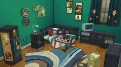 LEO-SIMS • Boy version of ANNA TROPICAL TWIST ROOM-...