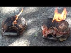 FIRE ON IPHONE 6S (Vs) SAMSUNG S6 EDGE | IndiaNewsToday