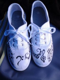 I made these musical shoes