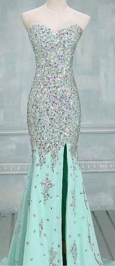 Long Prom Dresses , Open Back Prom Dresses , Gorgeous Prom Dresses ...