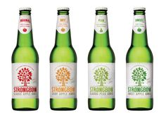 Australia's favorite cider Strongbow designed by The Collective, Australia