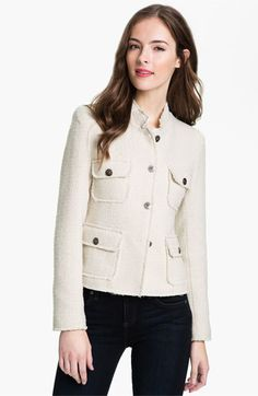 Max & Mia Bouclé Jacket available at #Nordstrom