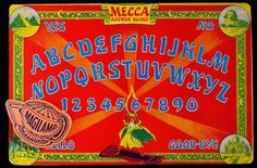 Awesome vintage ouija boards | Dangerous Minds