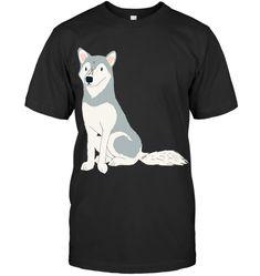 Husky Grey White Husky T Shirt Husky Guy, White Husky, Grey And White, Guys, Prints, Mens Tops, T Shirt, Fictional Characters, Supreme T Shirt