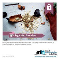Sigue este tip de #Seguridad Financiera y cuida tus ahorros.