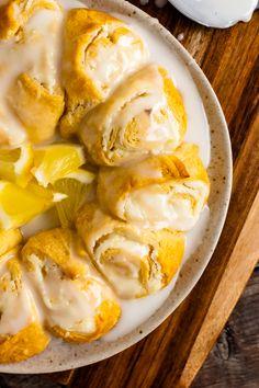 Crescent Roll Cream Cheese Danish - A Southern Soul Cream Cheese Danish, Cream Cheese Rolls, Potatoe Casserole Recipes, Sweet Potato Recipes, Crescent Roll Recipes, Crescent Rolls, Breakfast Recipes, Breakfast Ideas, Breakfast Pastries