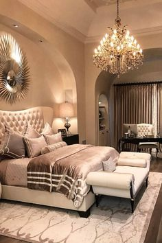 Luxurious bedroom That's Divine! By...{ @vincethebuilder }