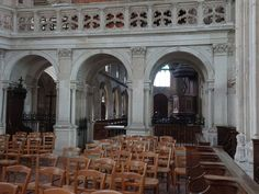 Le jubé de l'église d'Arques-la-Bataille (76)