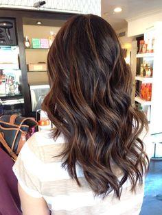 Medium Chocolate Brown Hair